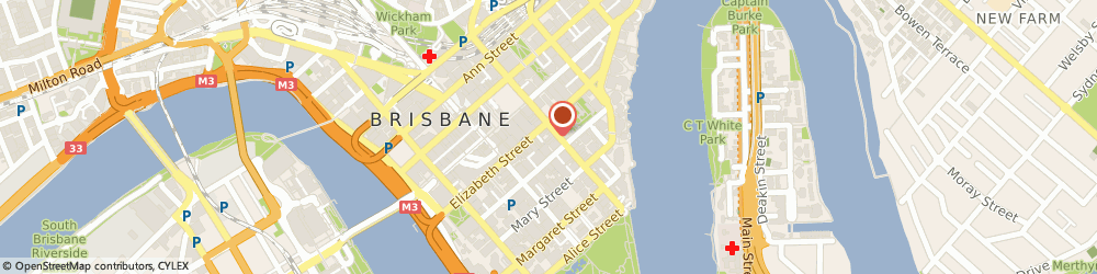 Route/map/directions to Australian Hotels Association (Qld Brch), 4000 Brisbane, 160 Edward St