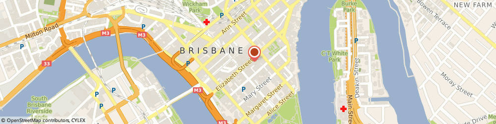 Route/map/directions to The Oxygen Bar, 4000 Brisbane, UPSTAIRS ELIZABETH ARCADE