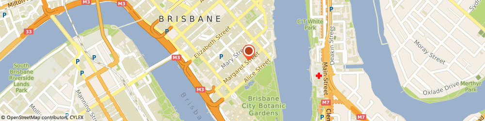 Route/map/directions to Avis Car Rental Brisbane City, 4000 Brisbane City, 53 Albert Street