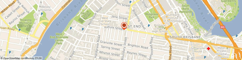 Route/map/directions to Addwest Shoe & Luggage Repairs, 4101 West End, 75 Vulture Street