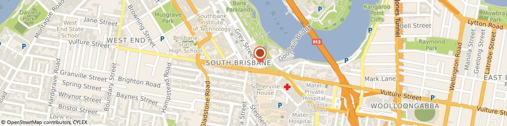 Route/map/directions to Woolworths Supermarkets - Southpoint, 4101 South Brisbane, 217 Grey St