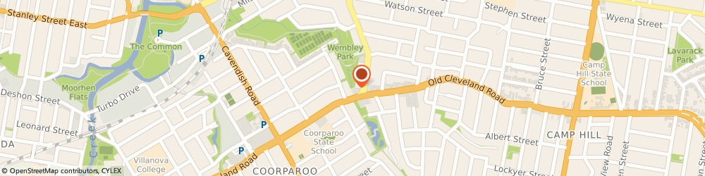 Route/map/directions to SUBWAY Coorparoo, 4151 Coorparoo, Shop 4, 412 Old Cleveland Road