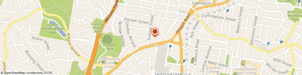 Route/map/directions to Kreative Social Media, 4068 Indooroopilly, 9/18 Vincent Street