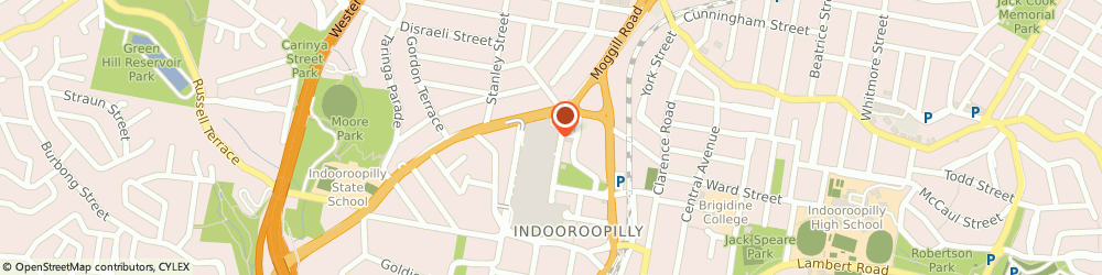 Route/map/directions to Sunglass Hut, 4068 Indooroopilly, 322 Moggill Rd