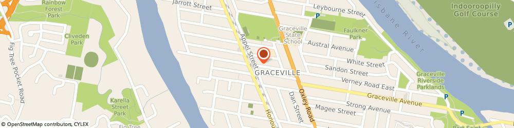 Route/map/directions to Brass Music Specialists, 4075 Graceville, 90 APPEL STREET