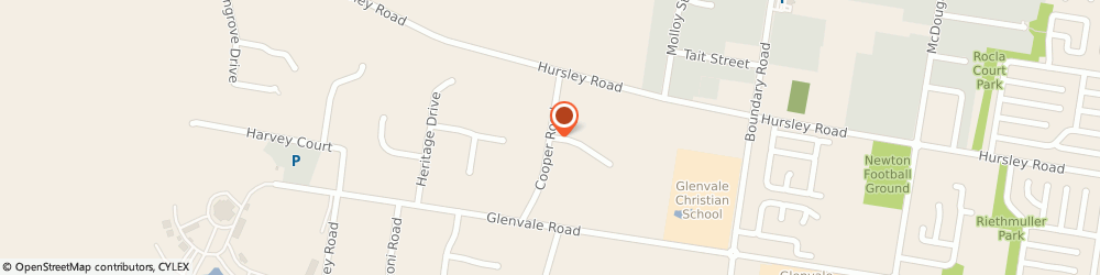 Route/map/directions to Glenda Curr, 4350 East Toowoomba, 14 Cooper Rd