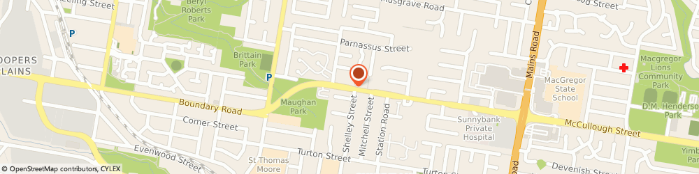 Route/map/directions to Keay Peter, 4109 Sunnybank, 259 McCullough St