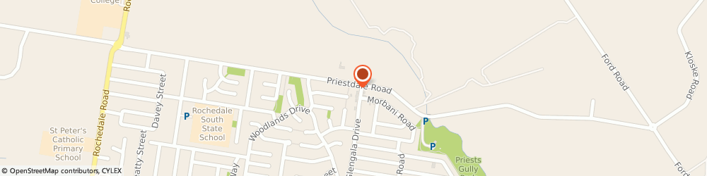Route/map/directions to Innate Vitality Health & Chiropractic, 4123 Rochedale South, 617 Priestdale Road