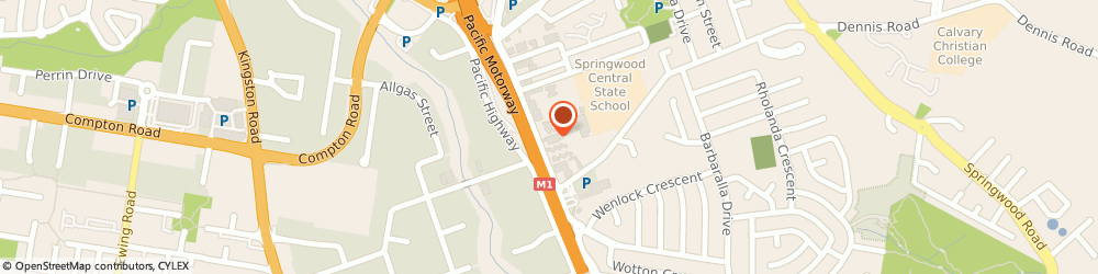 Route/map/directions to Ray White Commercial Springwood, 4127 Springwood, Unit 1, 3366 Pacific Highway