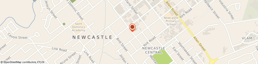 Route/map/directions to Afritech Architects, 2940 Newcastle, 60 MONTAGUE ST