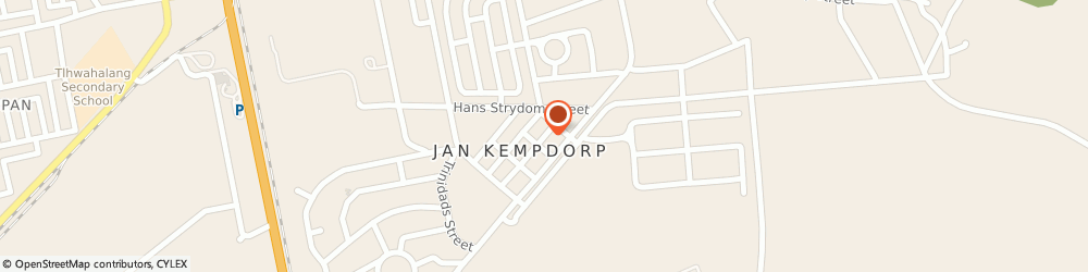 Route/map/directions to Marlo Insurance Brokers, 8550 Jan Kempdorp, 7 Stella St