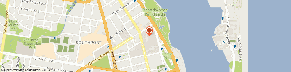 Route/map/directions to ANZ, 4215 Southport, 81 Scarborough St