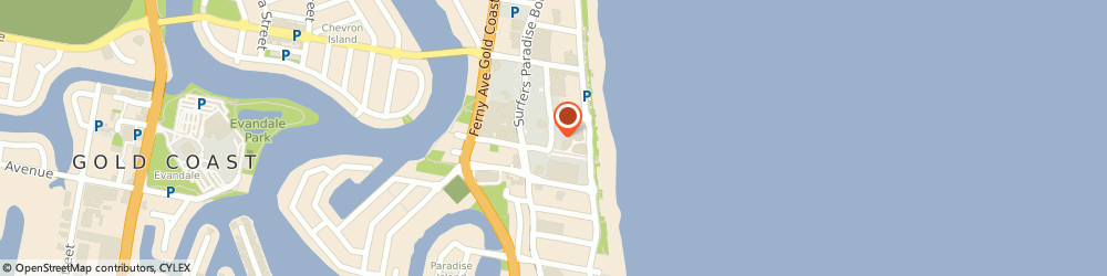 Route/map/directions to Morning Glory (Surfers Paradise Qld), 4217 Surfers Paradise, The Mark Centre 3- 15 Orchid Ave