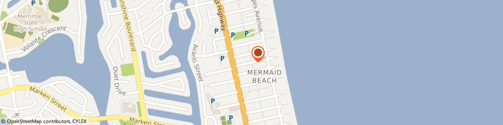 Route/map/directions to Waterlink Plumbing, 4218 Mermaid Beach, 28 Dudley St
