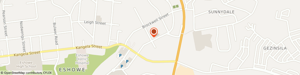 Route/map/directions to Excel Furniture Manufacturers, 3815 Eshowe, 23 RYNHOUD STREET
