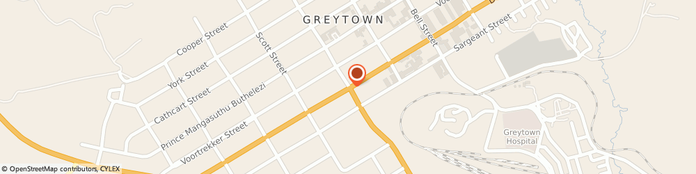 Route/map/directions to Greytown High School, 3250 Greytown, MUDEN ROAD