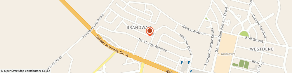 Route/map/directions to Tanosa Printing and Signs, 9301 Bloemfontein, 43 Hiemstra Street