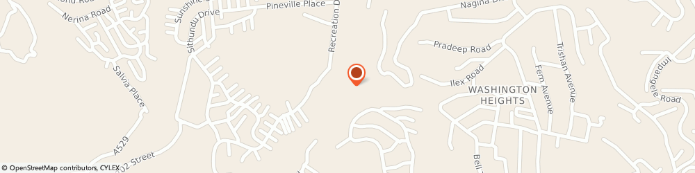 Route/map/directions to Nagina Swimming Pool, 3604 Pinetown, 24 Recreation Dr