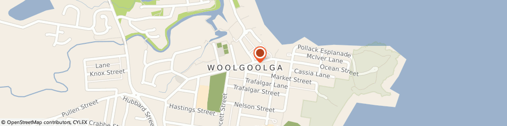Route/map/directions to One Step Conveyancing Services, 2456 Woolgoolga, 2/58 Beach Street