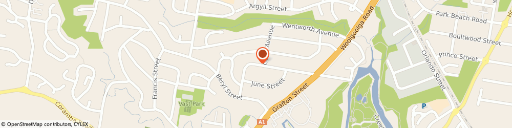 Route/map/directions to Tint a Car, 2450 Coffs Harbour, 1/ 10 Marcia Street