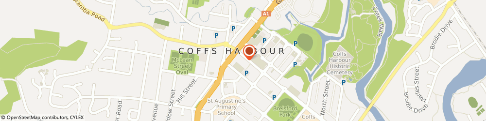 Route/map/directions to Walsh & Associates Lawyers and Conveyancers, 2450 Coffs Harbour, 1st Floor 34-38 Harbour Dr