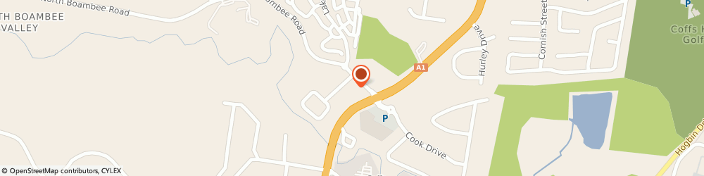 Route/map/directions to Autobarn Automative COFFS HARBOUR, 2450 Coffs Harbour, 9 North Boambee Road