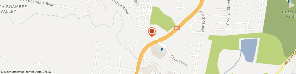 Route/map/directions to Shell COFFS HARBOUR, 2450 Coffs Harbour, Unit 1,9 North Boambee Road