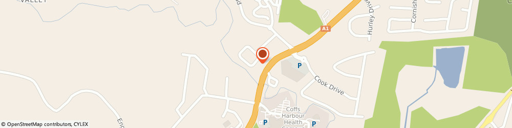 Route/map/directions to Carpet Court Flooring Coffs Harbour, 2450 Coffs Harbour, 1/22 Keona Circuit