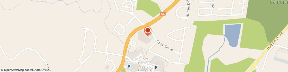 Route/map/directions to Coffs Harbour Marine, 2450 Coffs Harbour, 10 Alison Street