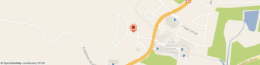 Route/map/directions to Reece Coffs Harbour South, 2450 Coffs Harbour South, 12 Isles Drive