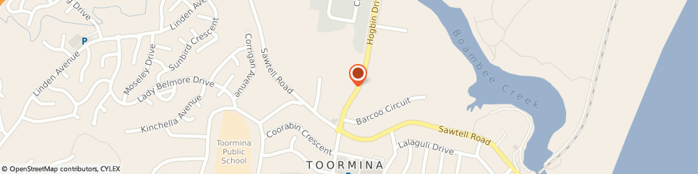 Route/map/directions to Tyrepower Toormina, 2452 Toormina, 631 Hogbin Drive