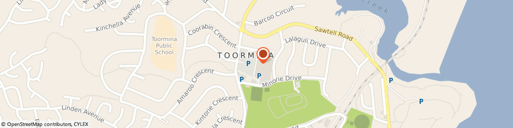 Route/map/directions to Shell Toormina, 2452 Toormina, Toormina S/C, 5 Toormina Rd