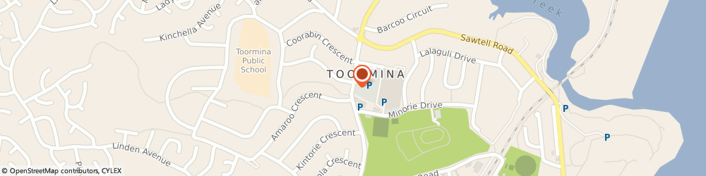 Route/map/directions to Westpac Banking Corporation, 2452 Toormina, Toormina Gardens Shpng Cntr