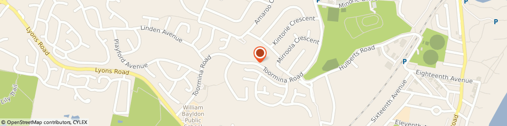 Route/map/directions to Marian Grove Retirement Village, 2452 Toormina, STREET