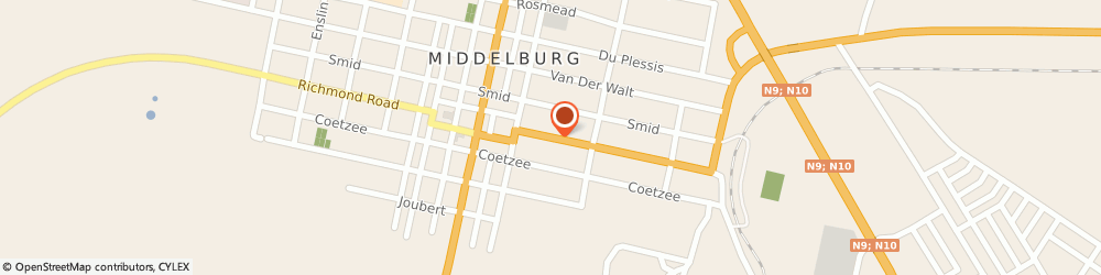 Route/map/directions to Unique Swimming Pools, 1050 Middelburg, Church Street 77