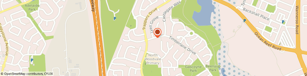 Route/map/directions to Hypnoworks, 6026 Perth, Cnr Timberlane Drive, Lyell Grove