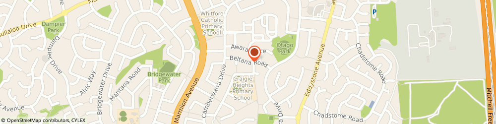 Route/map/directions to Perth eco cleaning, 6025 Craigie, 9a Beltana Rd