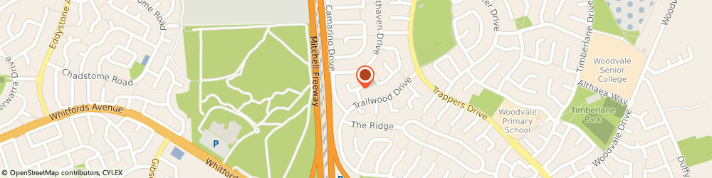 Route/map/directions to urBodi Detox Clinic, 6026 Woodvale, 19 Pennant Pl