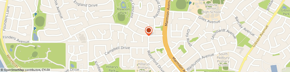 Route/map/directions to Nutrition Clinic Of WA, 6025 Hillarys, 110 Flinders Ave