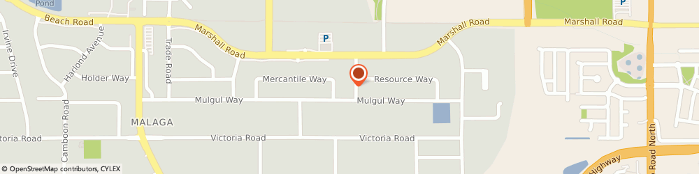 Route/map/directions to Garry Smith's Autoworks Pty Ltd, 6090 Malaga, U3/ 5 Iron St