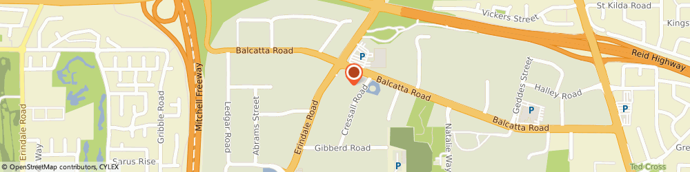 Route/map/directions to Frank O'Grady Automotives, 6021 Stirling, 3/ 15 Cressall Rd