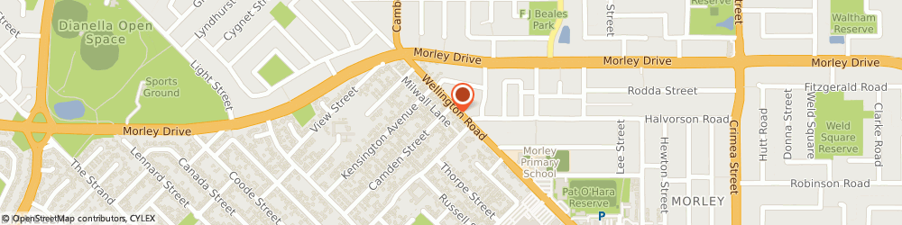 Route/map/directions to Morley Chiropractic Clinic, 6062 Morley, 65 Wellington Rd