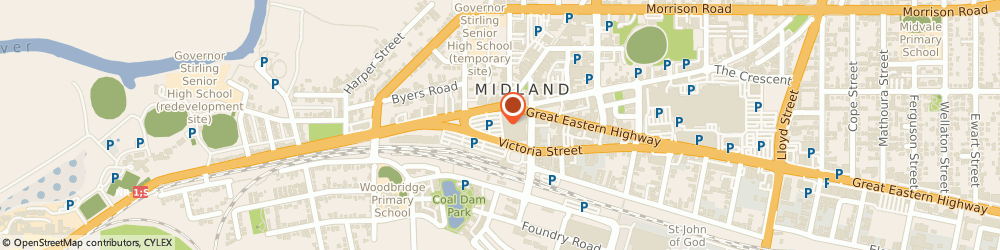 Route/map/directions to Carpet Cleaning Midland, 6056 Midland, 307 Great Eastern Highway