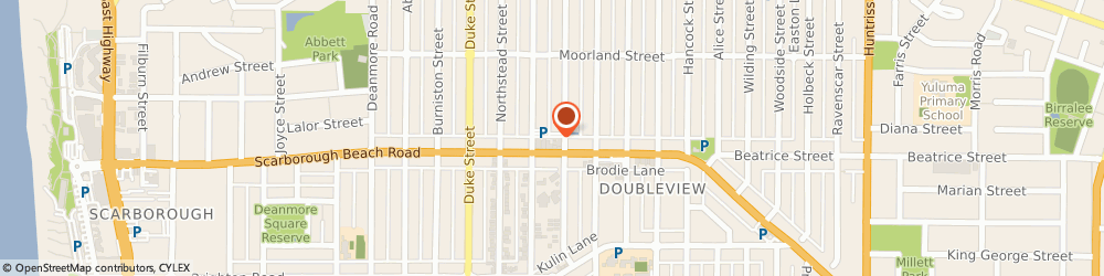 Route/map/directions to Blazing Saddles Cyclery, 6019 Scarborough, 166 Scarborough Beach Road