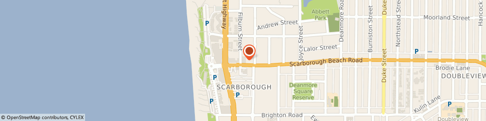 Route/map/directions to Domino's Pizza SCARBOROUGH, 6019 Scarborough, 22 Scarborough Beach Road