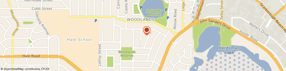 Route/map/directions to Herbalife Doubleview, 6018 Perth, 10 Cedar Pl Doubleview