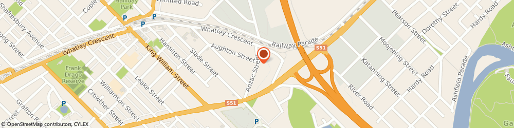 Route/map/directions to Heal Your Mind and Body with Emmett Me, 6053 Bayswater, 14 Anzac St