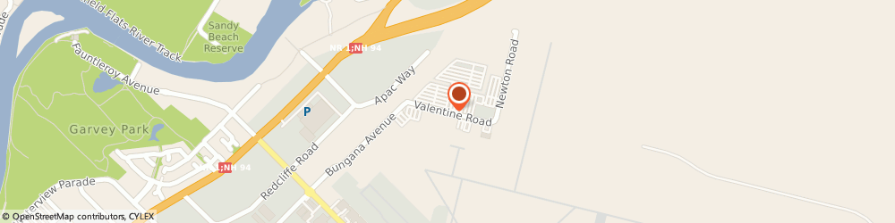Route/map/directions to Skippers Aviation Pty Ltd, 6104 Redcliffe, Valentine Road