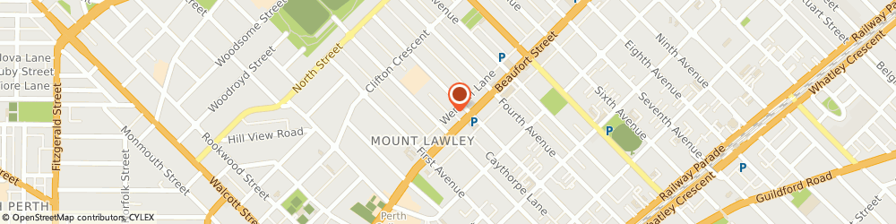 Route/map/directions to Lions Hearing Clinic, 6050 Mount Lawley, 67A Third Avenue