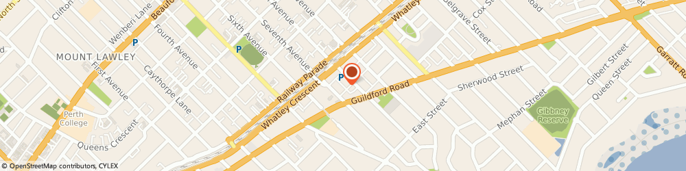 Route/map/directions to Westpac Maylands, 6051 Maylands, 63 Eighth Ave